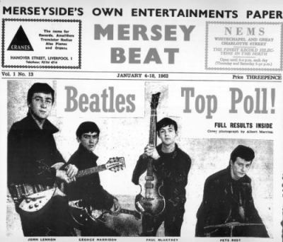 The Beatles Polska: Beatlesi na okładce Mersey Beat